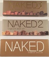 URBAN DECAY NAKED 1 2 3 PALETTE EYE SHADES EYESHADOW MAKEUP KIT