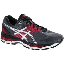 ASICS Men's GEL-Nimbus 17 Running Shoes Carbon White Black T507N 7401 All Size