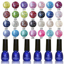UV Gel Nail Polish Glitter Color Soak Off Tips Long Last 8ml Candy Lover Brand