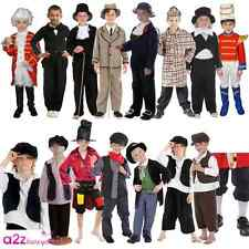 New Boys Victorian Gent Dicken Urchin Book Week Oliver Twist Fancy Dress Costume