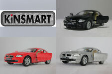 KINSMART 1:32 DIECAST BMW Z4 Coupe Car Black / Red / Silver Model New Gift Toy