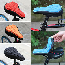 Sports Cycling Bike Silicone Saddle Seat Cover Gel Cushion Soft Comfortable Pad