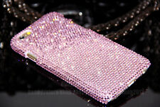Super Bling Full Pink Austria Diamond Crystal Case Cover For iPhone 6/6 Plus/5
