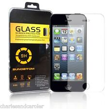 Premium Tempered Glass Film Screen Protector for Apple iPhone 5 5C 5S WHOLESALE