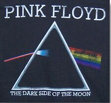 """NEW! Pink Floyd """"Dark Side of the Moon"""" Classic Rock Band Licensed Adult T-Shirt"""