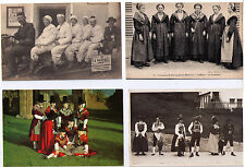 NATIONAL COSTUME POSTCARD ASSORTMENT TRADITIONAL DRESS ASSORTED COUNTRIES