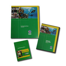 PADI Enriched Air Nitrox Computer Diver Speciality - manual DVD crewpack