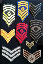 Patches-Stripes Military Sergeant Corporal US Navy / Army Patch Fancy Dress