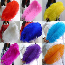 Wholesale 10-100pcs natural ostrich feathers 6-24inches/15-60cm Wedding Hot