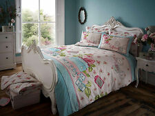 Vintage Free Spirit Shabby Chic Duvet Cover Quilt Cover Bedding Set With Pillow