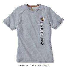 Carhartt FORCE COTTON DELMONT GRAPHIC Funktions T-Shirt, grau, grey, 101121