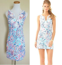 NEW Lilly Pulitzer Gabby Shift Sleeveless Dress 002468 $198 multi shell