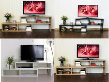 2 in 1 Convertible Wooden Display Stereo TV Stand Cabinet CD DVD Bookcase Shelf