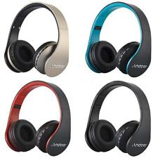 4-1 Folding Wireless Bluetooth Headphone&Wired Headset MP3 Player SD/TF FM Radio
