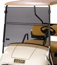 Tinted Fold Down Windshield-EZGO TXT & MEDALIST 95-Up Gas & Electric Golf Carts