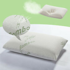 Hypoallergenic Comfort Bamboo Memory Foam Pillow with free Carrying Bag