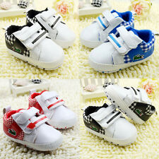 Baby boys Girl Crib Shoes Sports casual shoes Size Newborn to 18 Months
