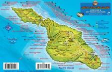 Santa Catalina Island Dive Map & Kelp Forest Creatures Fish Card by Franko Maps