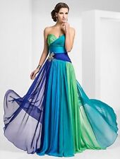 Women sexy Long Formal Gown Bridesmaid Prom Dress Wedding Party Evening Dresses