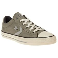 New Mens Converse Green Star Player Ox Canvas Trainers Lace Up
