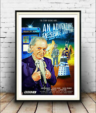 Dr Who Adventure in space and time ,advert, Poster, Wall art, Reproduction.