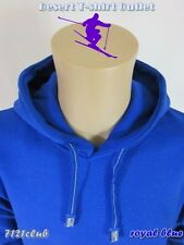 1 New PROCLUB mens thick HEAVY WEIGHT Fleece Pullover plain Hoodie BLUE S - 7XL