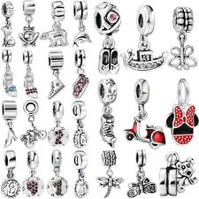 New Fashion Brand European Silver Bead Fit 925 Sterling Charms Bracelet Necklace