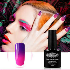Soak off Gel Nail Polish Temperature Changing Color UV/LED Lamp Nail Art Lacquer