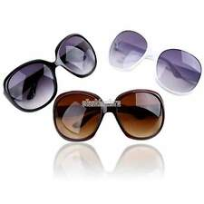 Women Designer Oversized Butterfly Sunglasses Eyewear Retro Vintage Shades EFFU