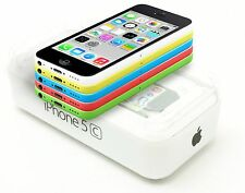 Apple iPhone 5C unlocked GSM 16GB World Smartphone - Pink, White, Green, Blue
