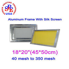 "18*20""""(45*50cm) Silk Screen Printing Aluminum Frame From 40 Mesh To 350 Mesh"