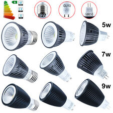 1 4 10x 5W 7W 9W GU10 MR16 E27 COB LED SpotLight Bulbs Warm Cool White Lamp AU