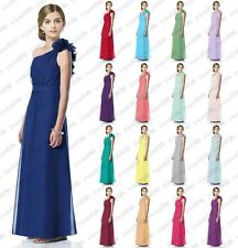 A Shoulder Princess Flower Girl Junior Evening Wedding Prom Bridesmaid dresses