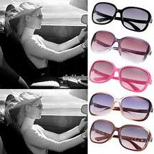 Vintage Style Women Retro Shades Oversized Square Frame Eyewear Sunglasses UV400