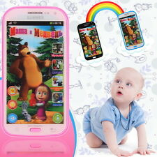 New Model Russian Language Phone Toy Learning Interactive Toys for Children HS
