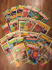 Match Magazines,1987-1991, Many Issues, FA Cup, European Cup, Teams, Mint