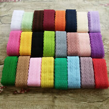 Brand new 10 yards pretty embroidery lace ribbon color can choose free shipping