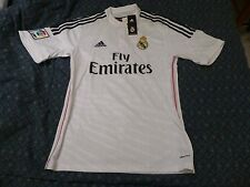 NWT Adidas 2014/2015 Real Madrid White Home Jersey (Men Size Medium or Large)
