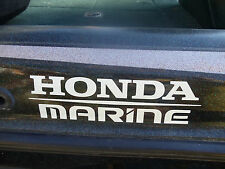HONDA MARINE Vinyl Decal Sticker. Your choice of Color -for outboard boat motor