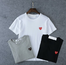 Ricky_c.s.a.k Japan Unisex Comme des Garcons Play Red Heart Stylish T-shirt