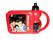 OFFICIAL ONE DIRECTION SCHOOL LUNCH SET - LUNCH BOX + DRINKING BOTTLE BOY / GIRL