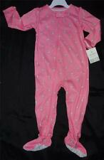 NEW Carter's Baby Girl 12 24 Months Sleeper Pajamas Clothes Pink Summer Fall NWT