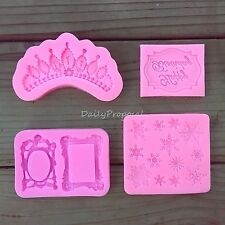 M7 Silicone Embossing Gum Paste Mold Fondant Cake Lace Decorating Icing Mat