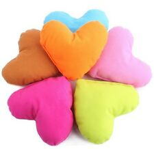 Cute  Small Heart-Shaped Love Pillow Soft Chewing Toy Lovely Puppy Dog Pet Bed