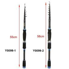 10 Sections Carbon Fiber Lure Telescopic Fishing Rod Fishing Pole Optional TS