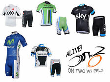 2015 PRO TEAM Cycle JERSEY Set-UK Venditore