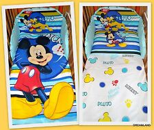 Nursery Baby COT /COT BED bedding set 3pc.Official Disney Mickey Mouse& Pluto