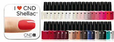 Genuine CND Shellac UV Gel Nail Polish 7.3 ml / .25 fl oz All Colors Pick One A2