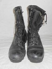 2004 US ARMY WOMENS MEDICAL CORPS COMBAT BOOTS SUMMER WEIGHT LIGHTLY USED SZ 6R