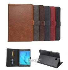 Luxury Folio Leather Stand Case Cover For Samsung Galaxy Tab A 8.0'' /9.7''/10.1